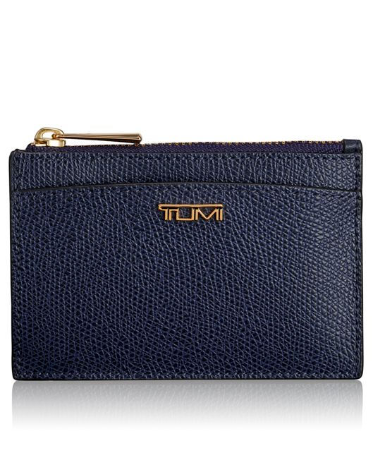 Slim Card Case in Moroccan Blue