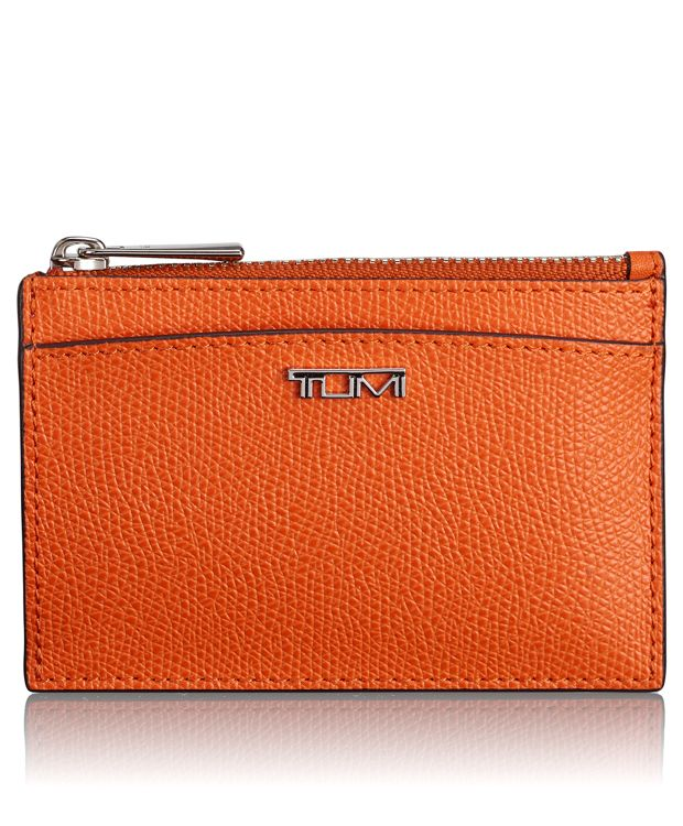Slim Card Case in Orange
