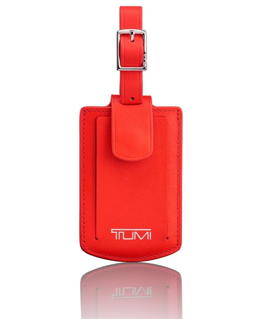Luggage Tag in Hot Pink