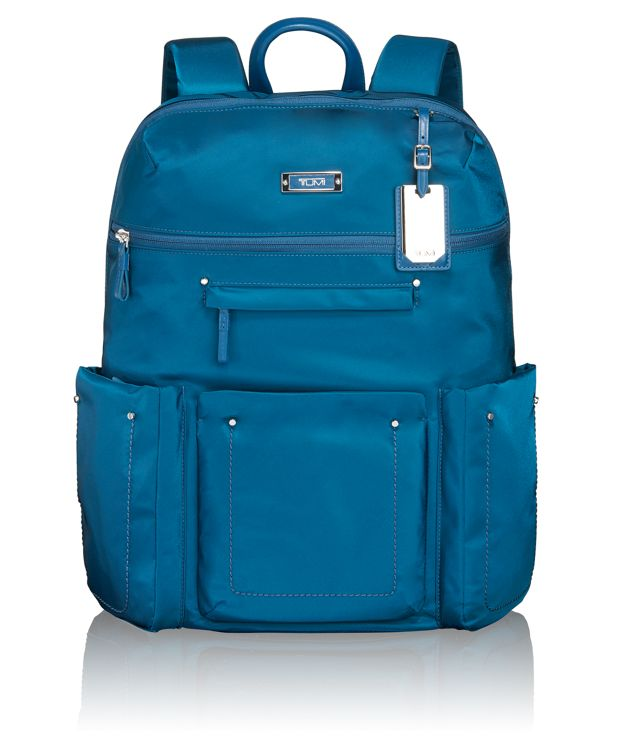 Calais Backpack in Blue Smoke