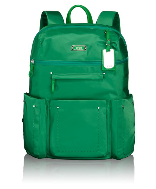 Calais Backpack in Emerald