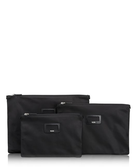 3 Pouch Set in Black