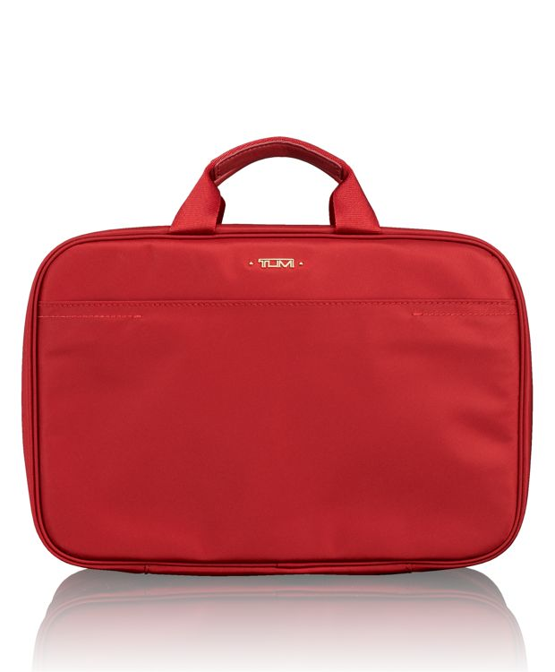 Monaco Travel Kit in Crimson