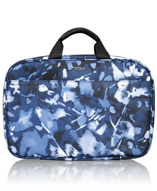 Monaco Travel Kit in Indigo Floral