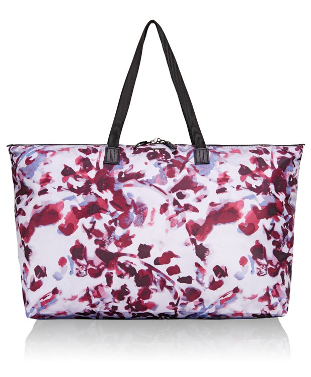 Just In Case® Travel Duffel in ORCHID FLORAL