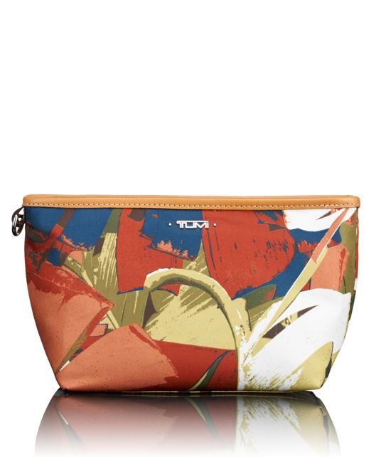 Addie Pouch in Banana Leaf Print