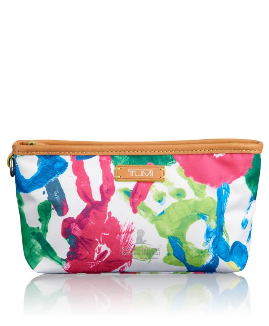 Amelia Pouch in Hand Print