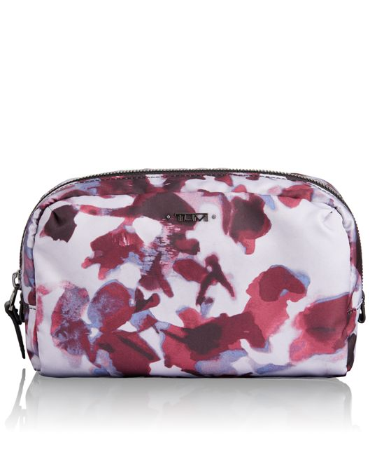 Sanibel Pouch in ORCHID FLORAL