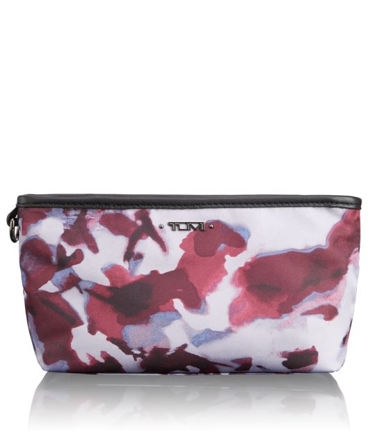 Amelia Pouch in Orchid Floral