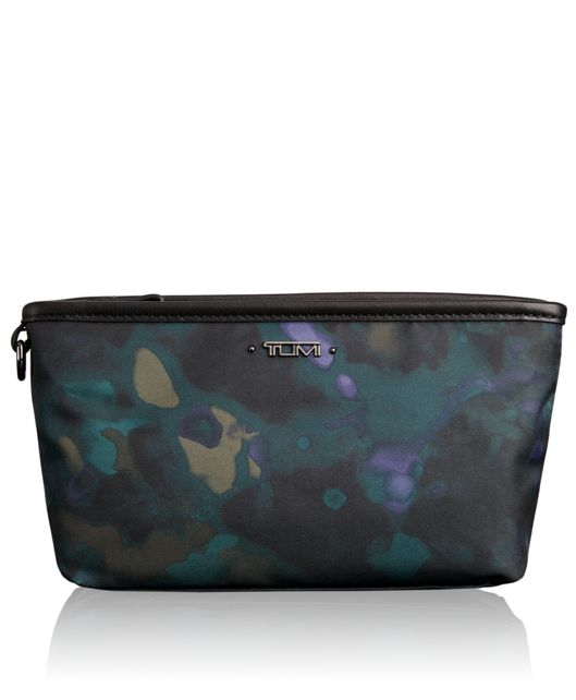 Amelia Pouch in Pine Floral