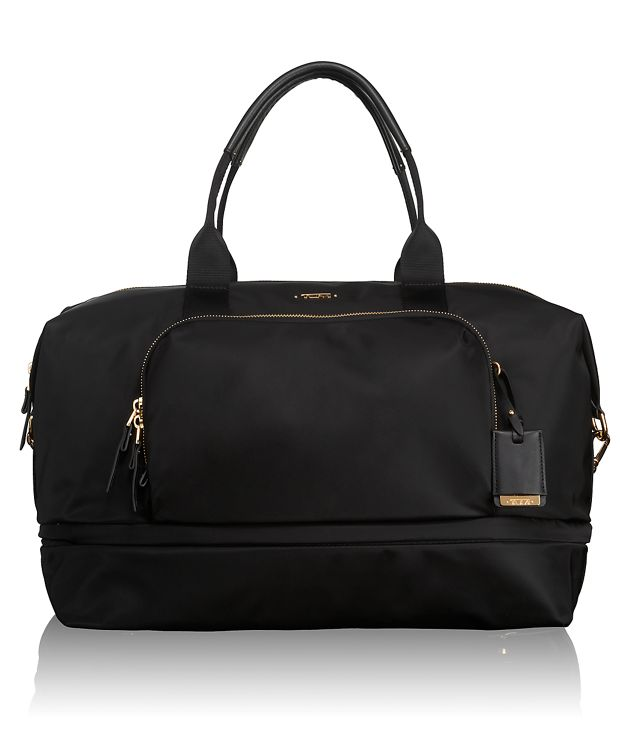 Durban Expandable Duffel in Black