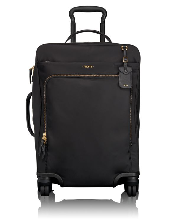 Super Léger International 4 Wheeled Carry-On in Black