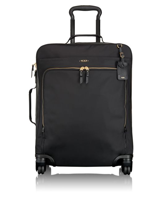 Super Léger Continental 4 Wheeled Carry-On in Black