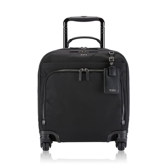 Oslo 4 Wheeled Compact Carry-On in Black/Gunmetal