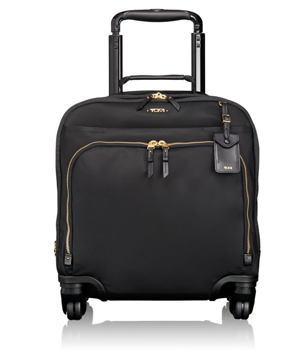 Oslo 4 Wheeled Compact Carry-On in Black