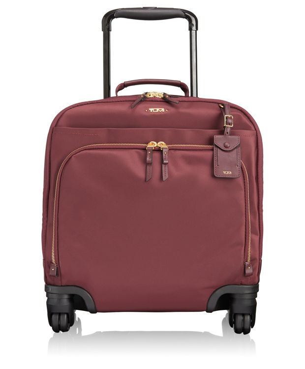 Oslo 4 Wheeled Compact Carry-On in Merlot