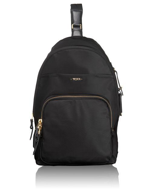 Brive Sling Backpack in Black