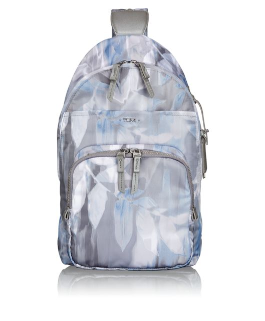 Nadia Convertible Backpack/Sling in Blur Print