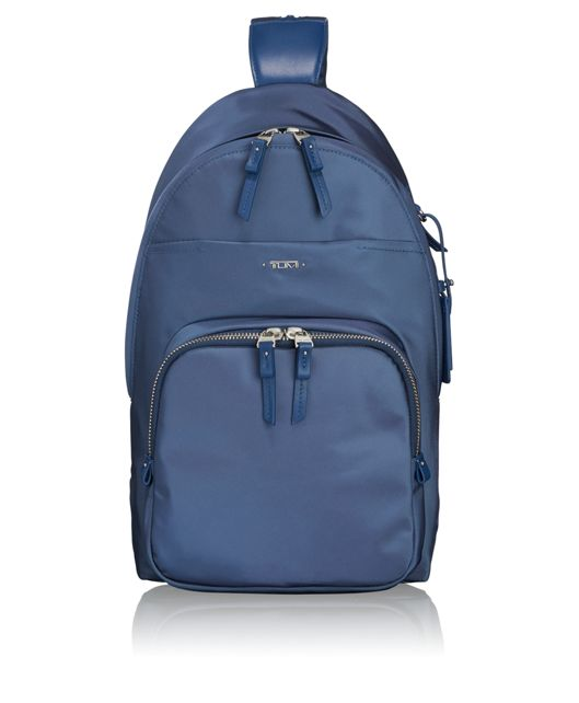 Nadia Convertible Backpack/Sling in Cadet