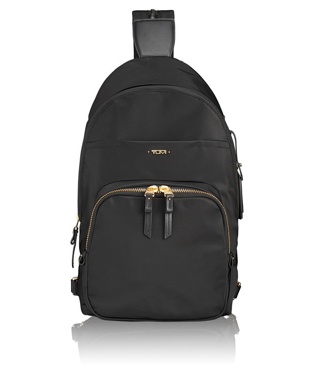 Nadia Convertible Backpack/Sling in Black