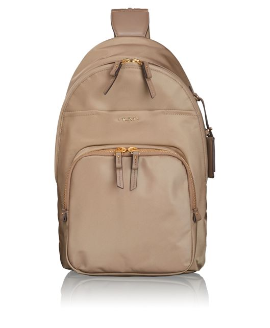Nadia Convertible Backpack/Sling in Khaki