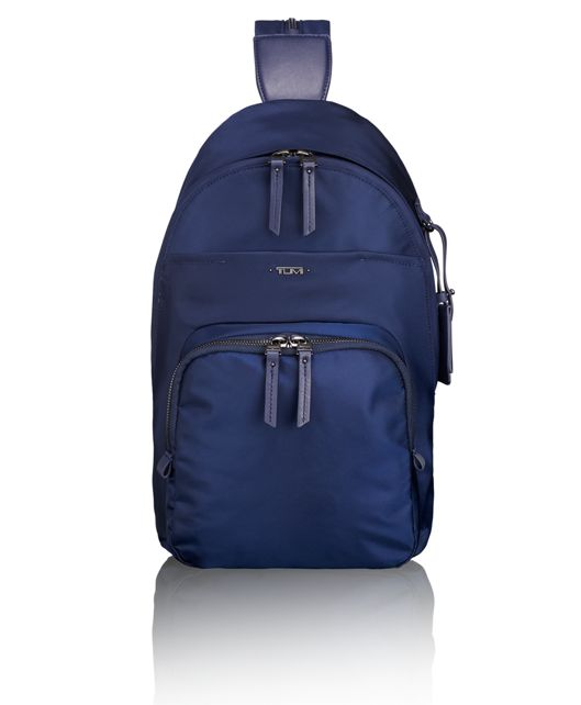 Nadia Convertible Backpack/Sling in Marine