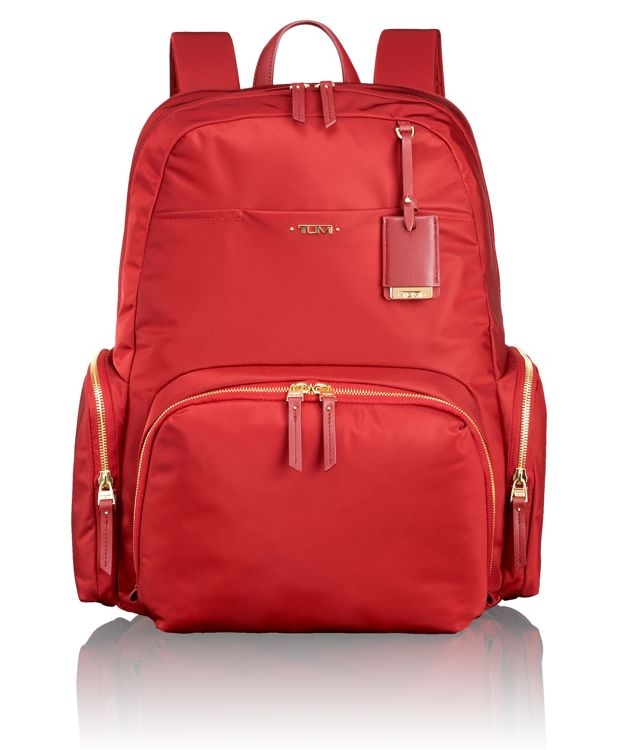 Calais Backpack in Crimson