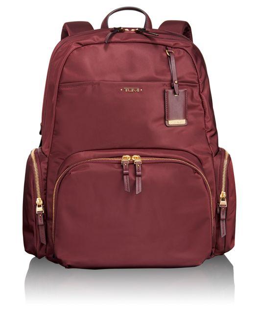 Calais Backpack in Merlot