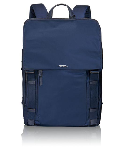 Sacha Flap Backpack in Indigo