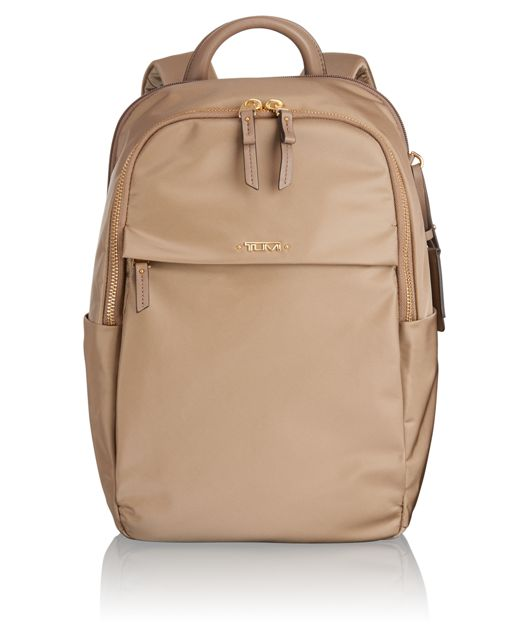 Daniella Small Backpack in Khaki