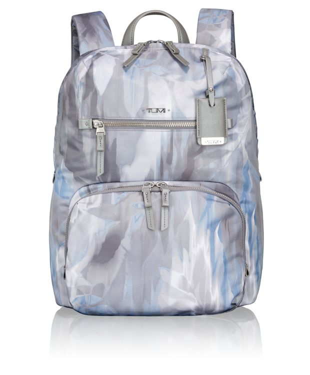Halle Backpack in Blur Print