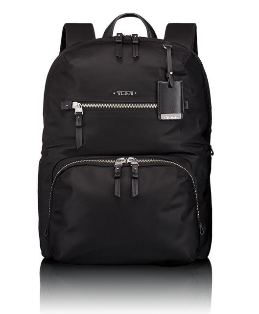 Halle Backpack in Black/Silver