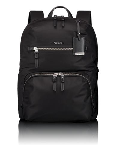 Halle Backpack - Voyageur - Tumi United States - Black Silver 2fb0bdee789fc