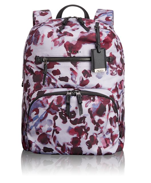 Halle Backpack in Orchid Floral