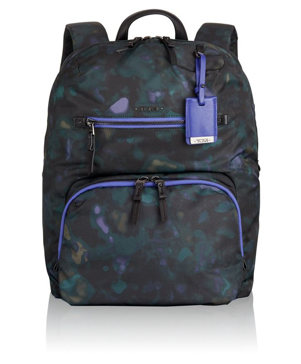 Halle Backpack in Pine Floral