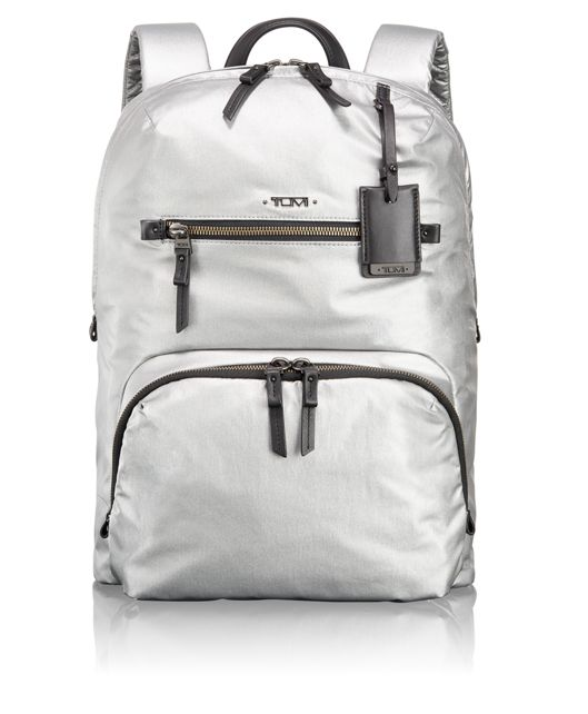 Halle Backpack in Silver