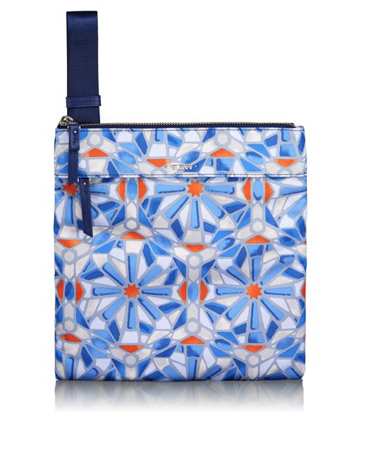 Calera Crossbody in Cayenne Tile Print