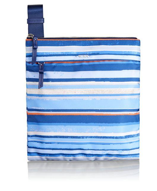 Calera Crossbody in Moroccan Blue Stripe