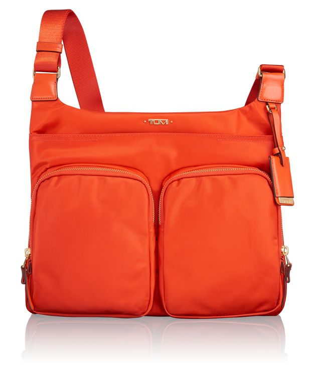 Sadler Crossbody in Cayenne