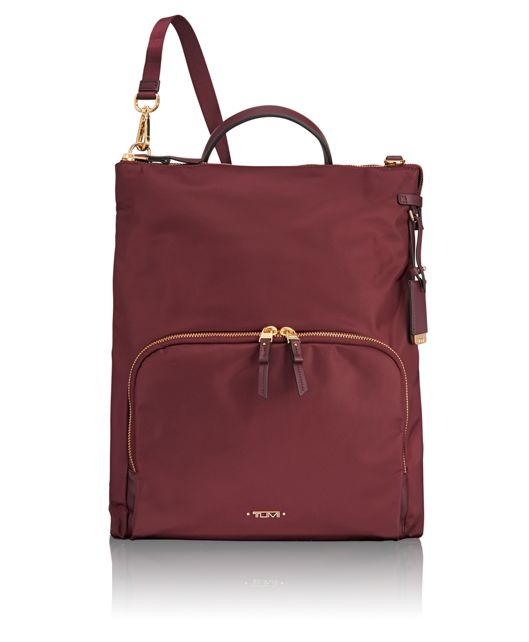 Jackie Convertible Crossbody in Merlot