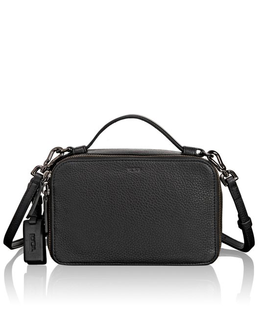 Angie Small Crossbody in Black