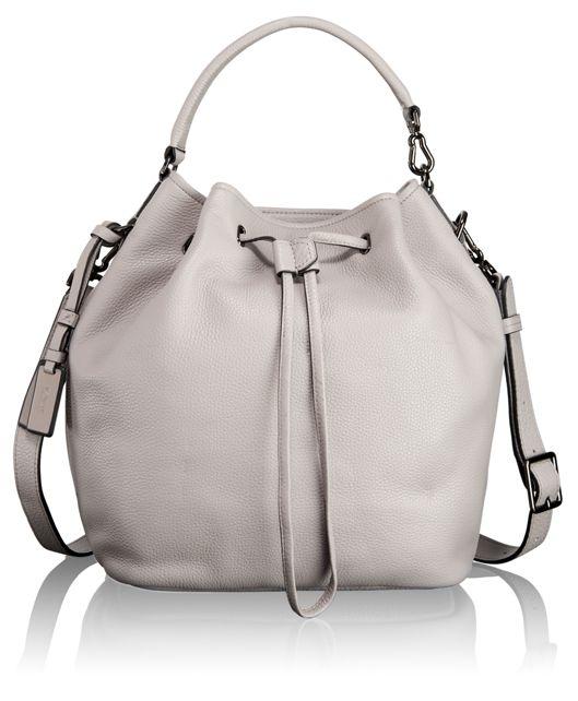 Georgie Bucket Bag in Ash