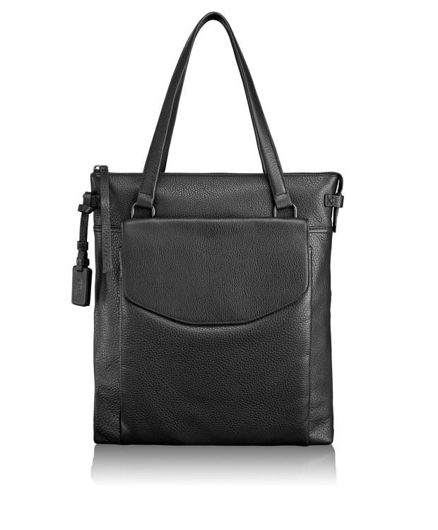 Essex Convertible Backpack in Black