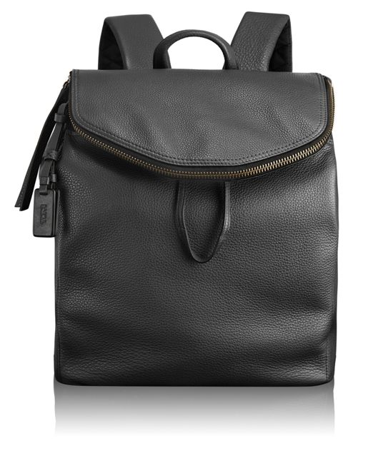 Mercer Drawstring Backpack in Black