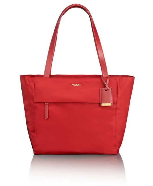 Small M-Tote in Crimson