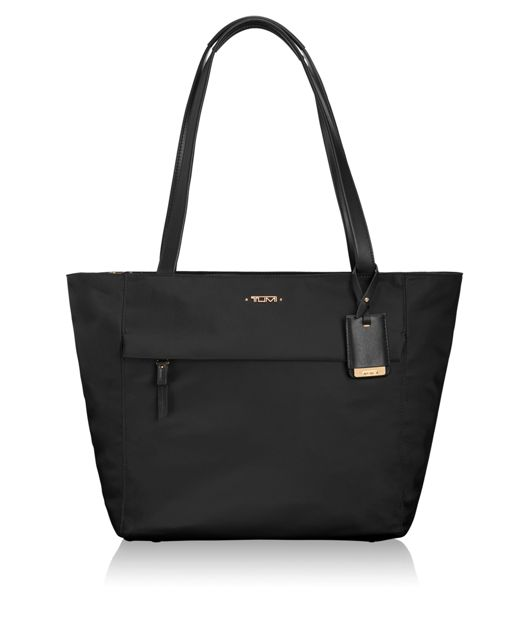 Small M-Tote in Black