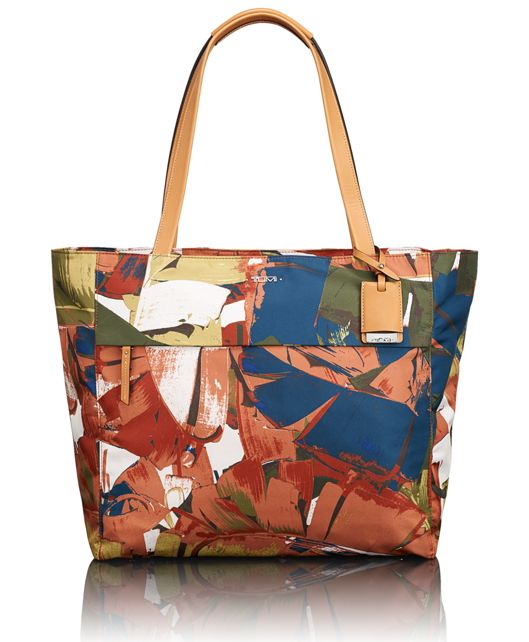 M-Tote in Banana Leaf Print