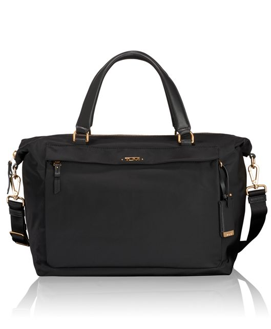Ruth Soft Satchel in Black