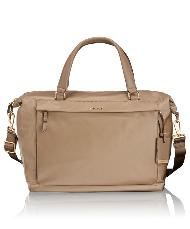 Ruth Soft Satchel in Khaki