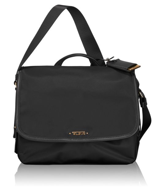 Small Lola Messenger in Black